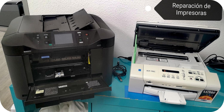 Reparación impresoras en Palencia