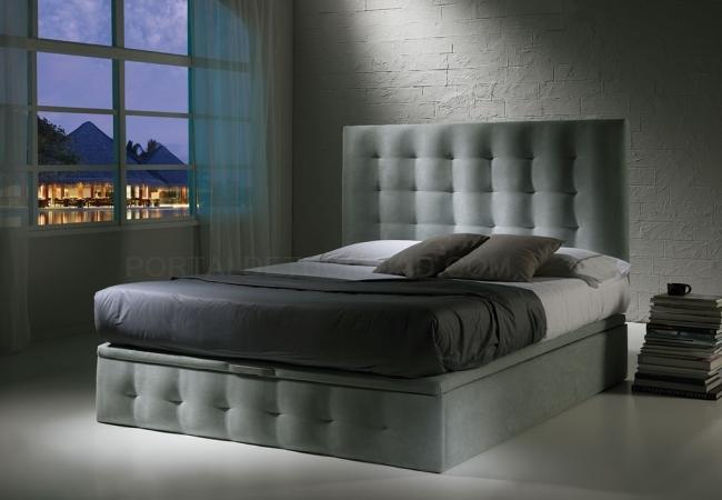 Dormitorio tapizado de Tapizados Carrasco.