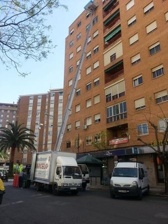 Mudanzas en Cáceres