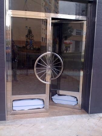 Puertas en acero inoxidable