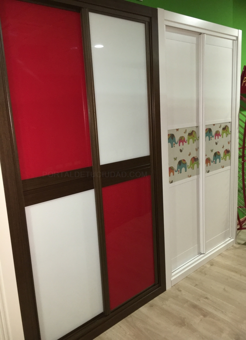 Frentes de armarios correderas y abatibles