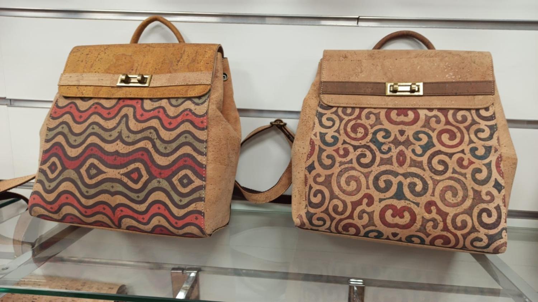 Bolsos, mochilas, monederos, fundas de corcho