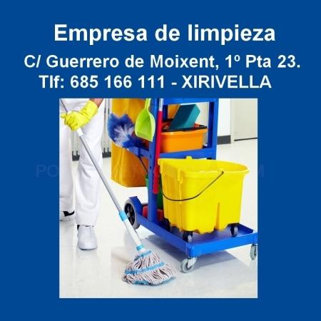 Empresa de limpieza en Xirivella