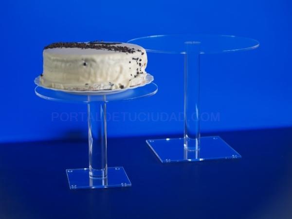 Expositor tartas de metacrilato