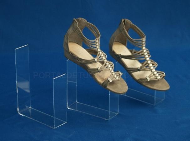 Expositor zapatos de metacrilato