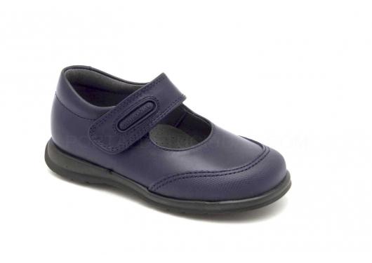 Zapato Colegial Azul Marino