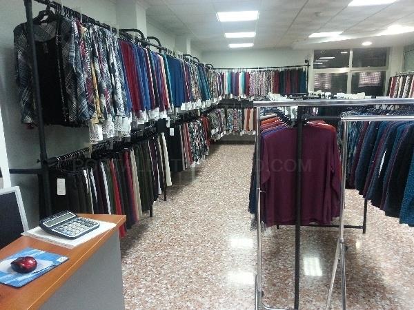 Venta al por mayor de prendas