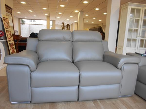 sofa en piel