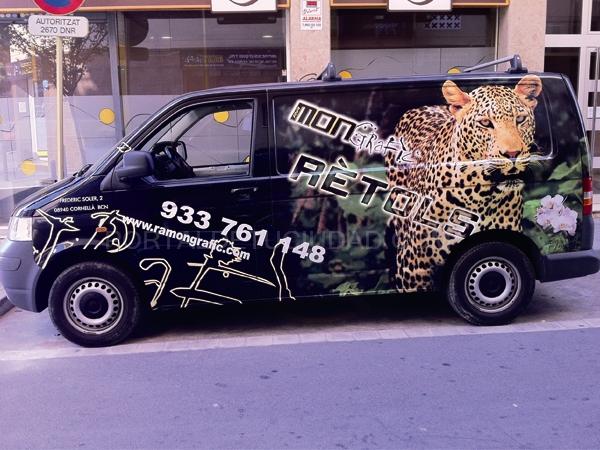 Rotulación de Vehiculos en Barcelona