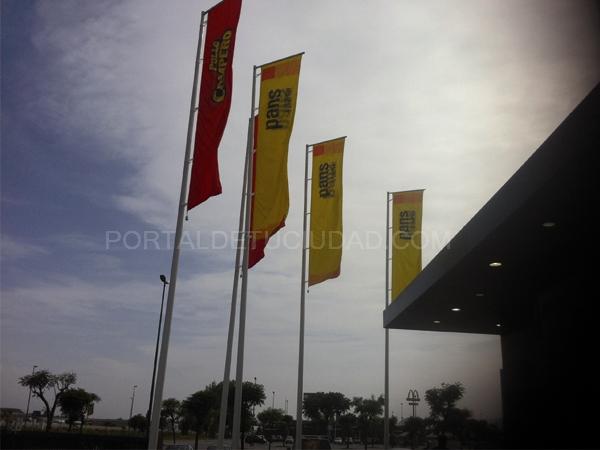 Banderas ignifugas Barcelona Baix Llobregat