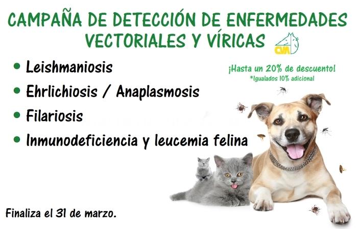 Oferta Campaña de enfermedades vectoriales y víricas