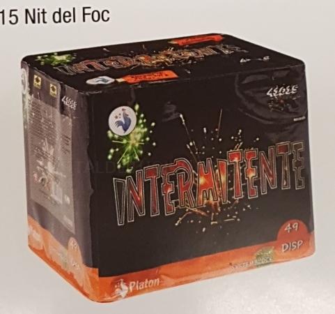 Oferta Bateria Nit del Foc Intermitente