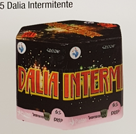 Destacado Bateria Dalia Intermitente