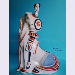 Figuras de porcelana GALOS. Diseño Gallego
