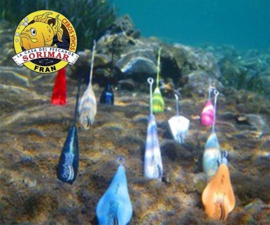Plomos pesca Elche Torrevieja Alicante