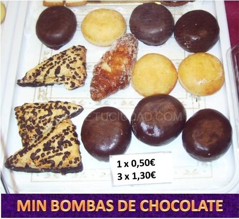 MINI BOMBAS DE CHOCOLATE