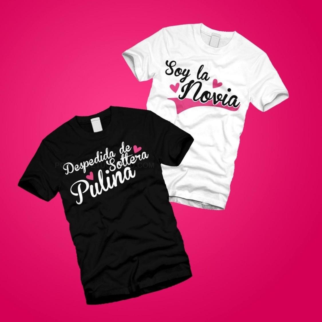 Camisetas para despedidas de solteros y solteras
