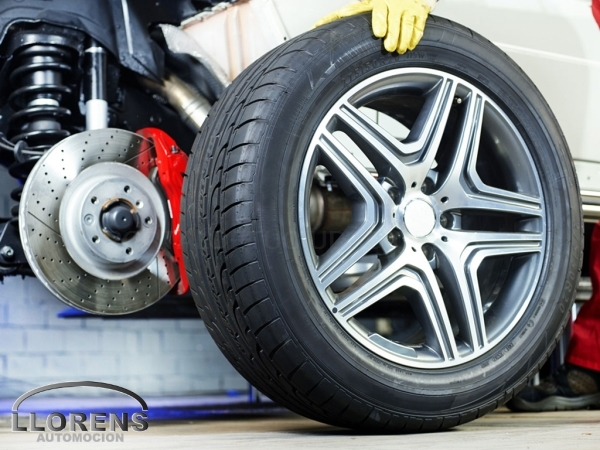 Cambio de neumáticos en Elche