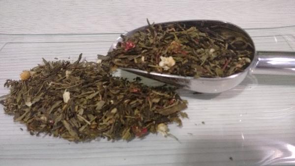 Té Verde Aromatizados Champan y Fresa