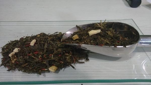 Té Verde Aromatizados Ginseng Rojo