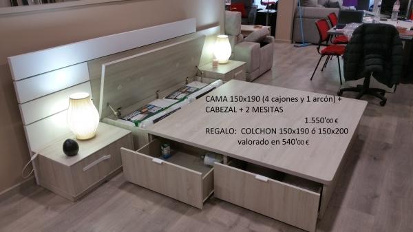 Oferta DORMITORIOS DE EXPOSICIÓN
