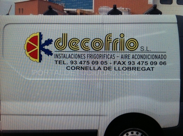 rotulacion de furgonetas de empresa en Barcelona