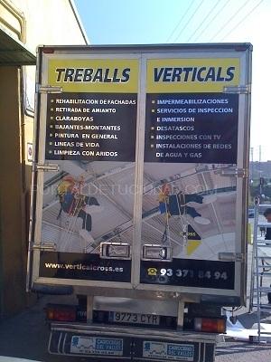 rotulacion de camiones en Barcelona