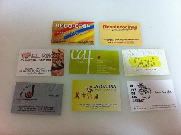 tarjetas personalizadas para particulares y empresas