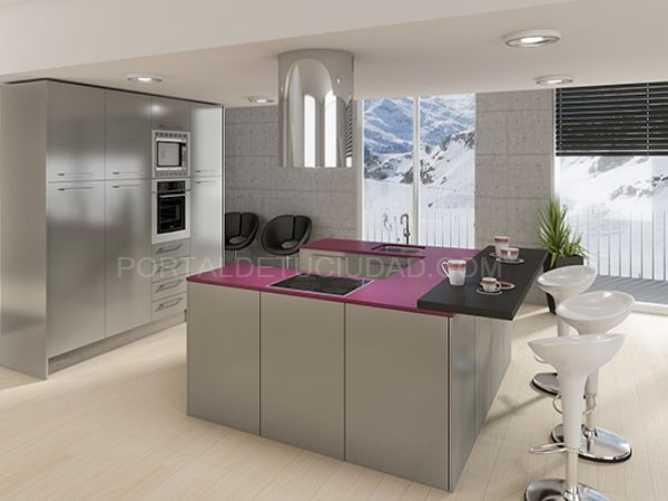 Muebles cocinas plata Baix Llobregat Barcelona