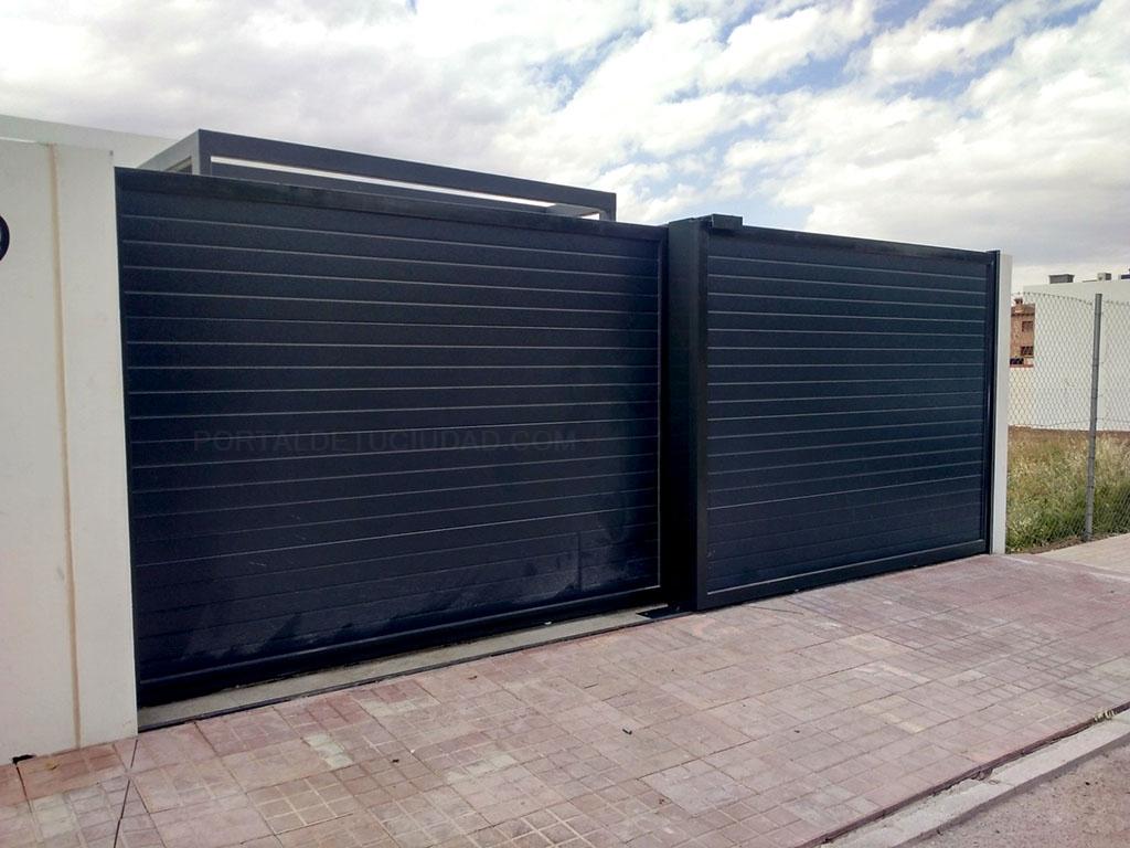 Puertas automáticas de garaje correderas