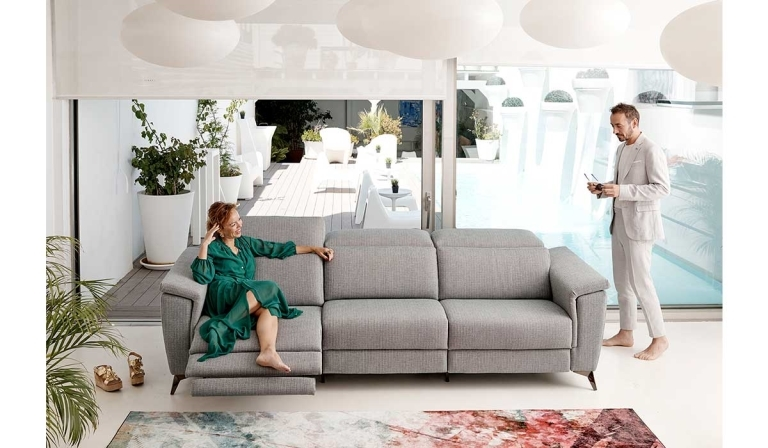 Destacado Acomodel sofás relax eléctricos.