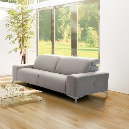 Destacado: sofás tapizados navarro piel y tela. Cornellá