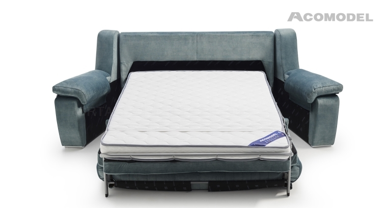 Sofá cama brazos desmontables