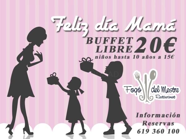 FELIZ DÍA DE LA MADRE BUFFET LIBRE CREVILLENT