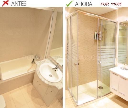 Oferta cambio bañera por plato de ducha Barcelona,Baix Llobregat