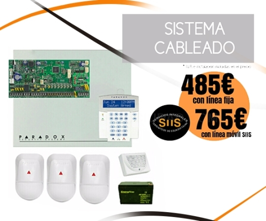 Oferta Alarma Sistema con cámaras de seguridad