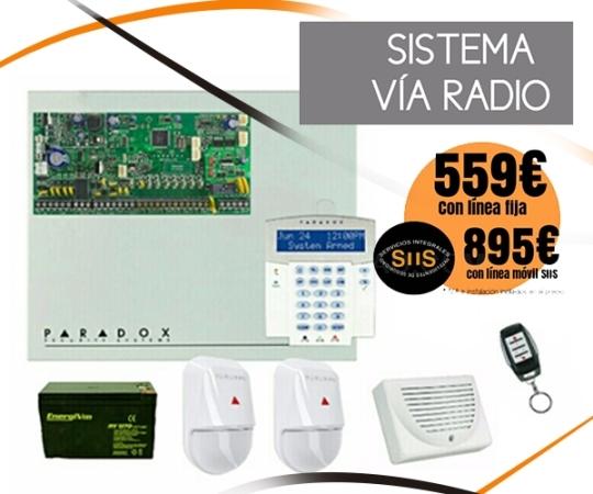 Oferta Alarma Sistema vía Radio