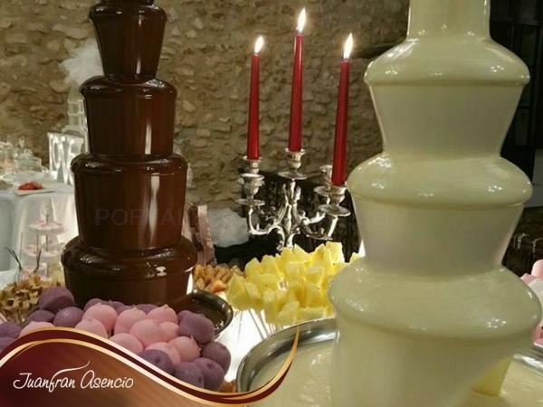 Alquiler fuentes de chocolate Alicante/Elche