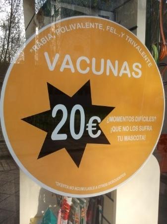 Vacunas a 20€