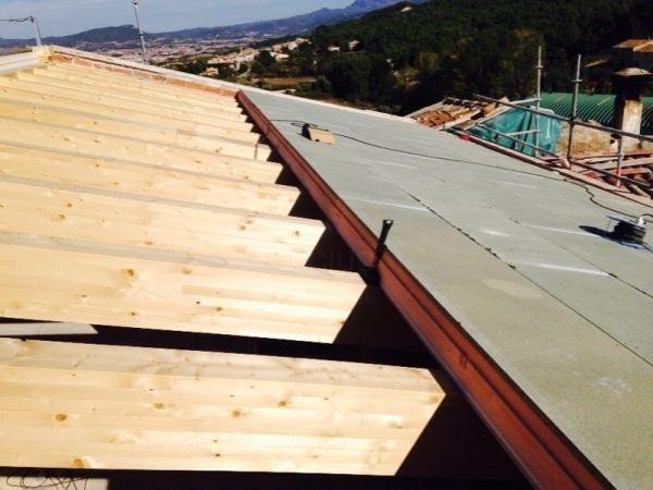 tejados madera Barcelona