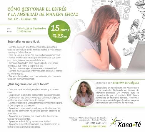 Destacado Gestionar Estrés y Ansiedad de manera eficaz