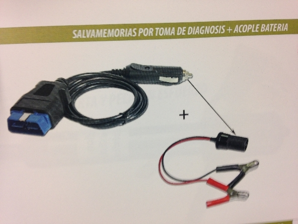 CABLE SALVAMEMMORIAS OBD