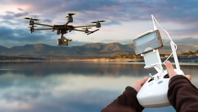 Reconocimientos médicos de pilotos de drones