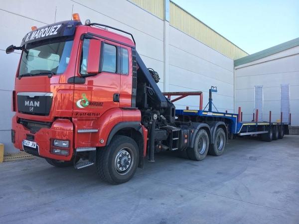 Rescate de vehículos con Góndolas en Cáceres