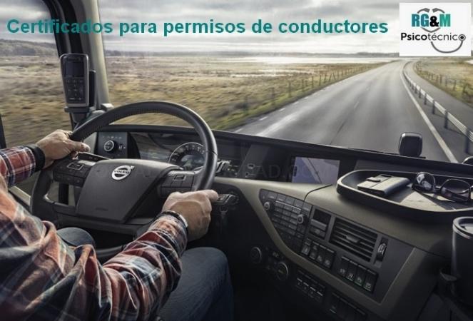 Certificados para permisos de conductores
