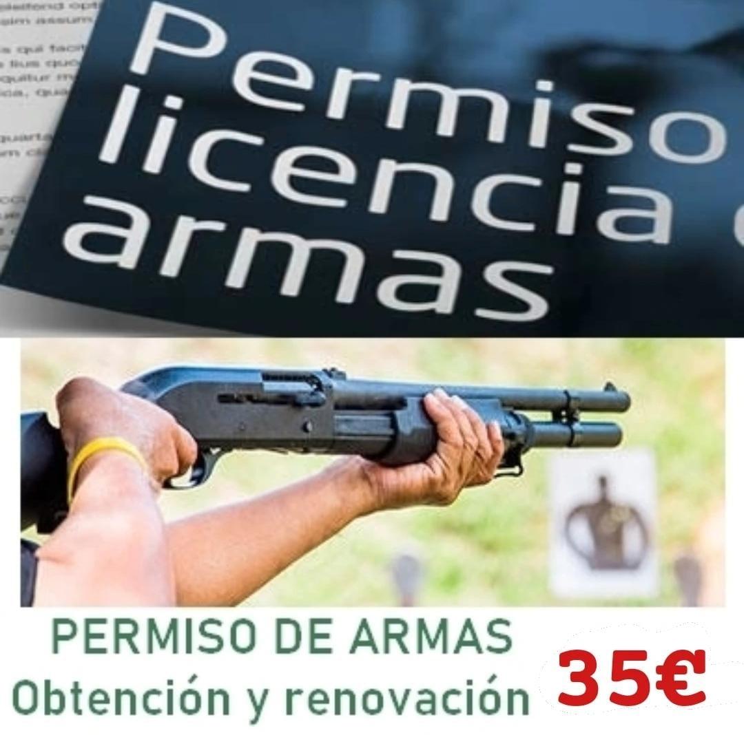 Permiso de armas en Guadalajara