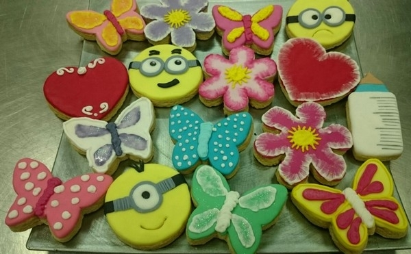Galletas infantiles decoradas