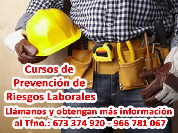 Prevención de Riesgos Laborables en Elche