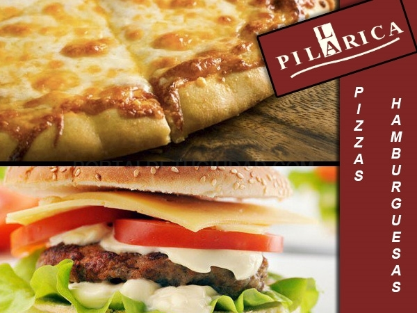 CARTA PIZZAS y HAMBURGUESAS