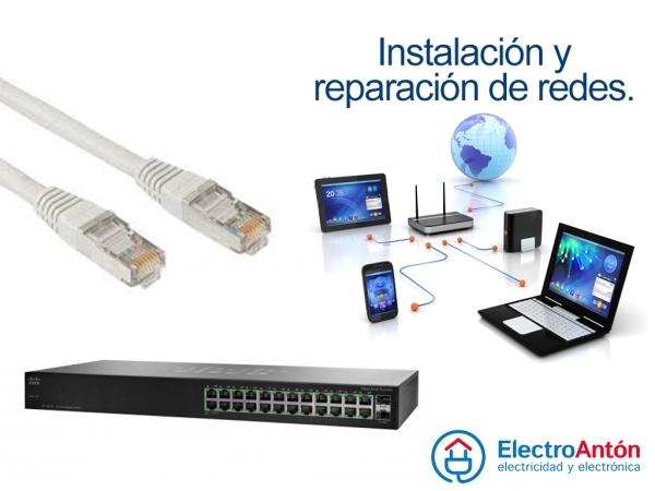Instalaciones y mantenimiento de redes cableadas en Elche